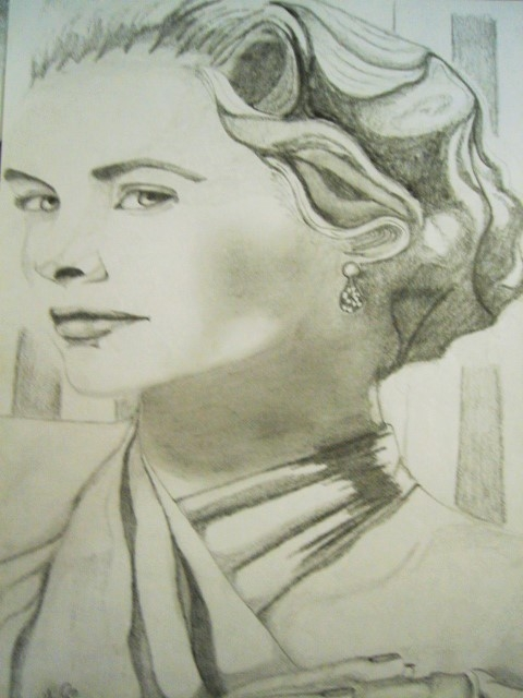 Grace Kelly por Mnsgha